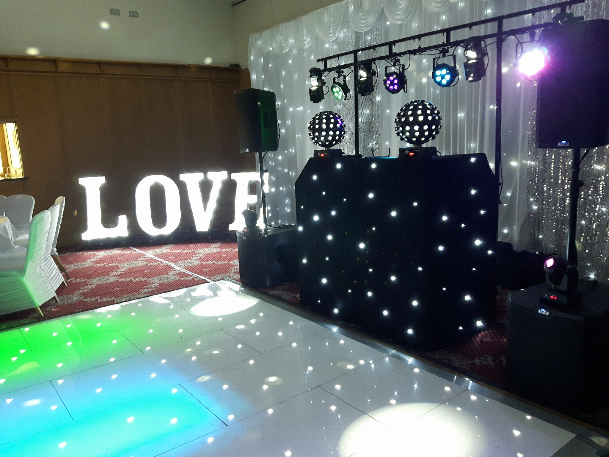 Light up Dance floor Hire Belfast