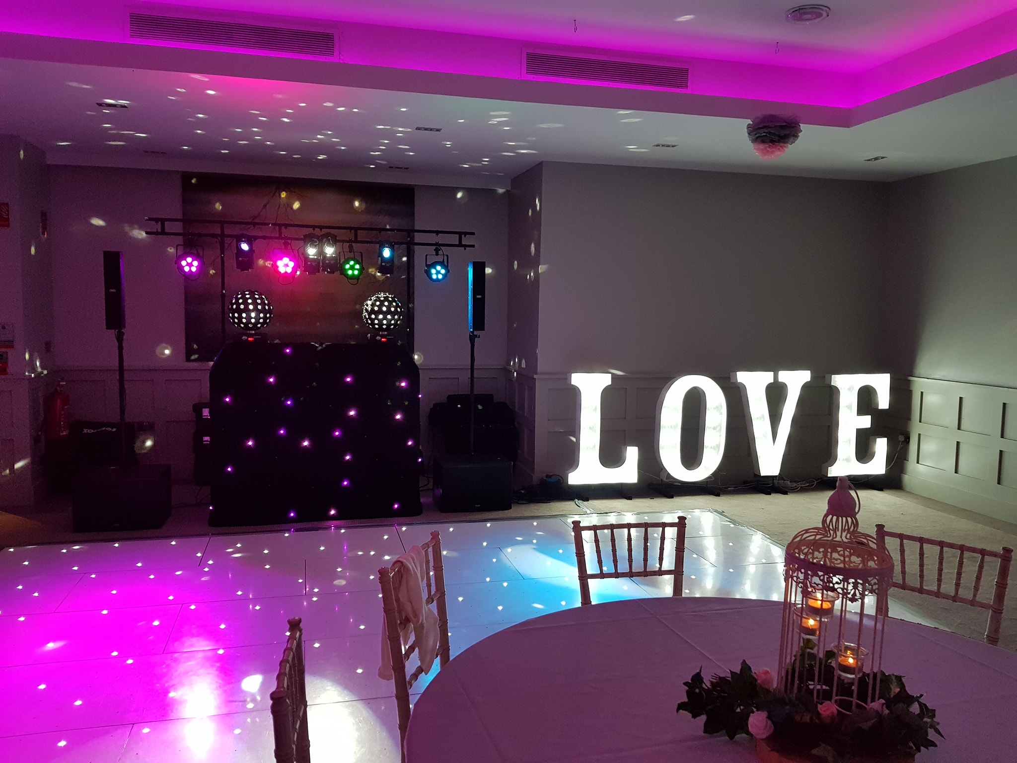 LED Dance Floor Hire NI